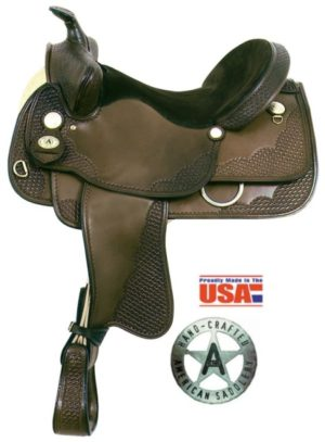 "American No.1056 7 No. 1057Hawkeye 3 Gaited Saddle. 16, 17"""