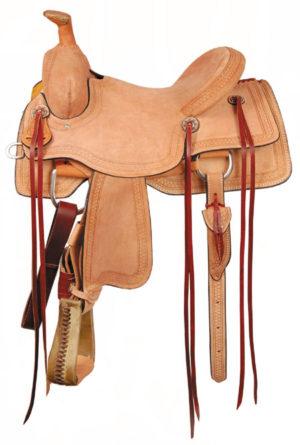 "American No. 1186Rio Ranch Roper Saddle, 16"" Full QH Bars"