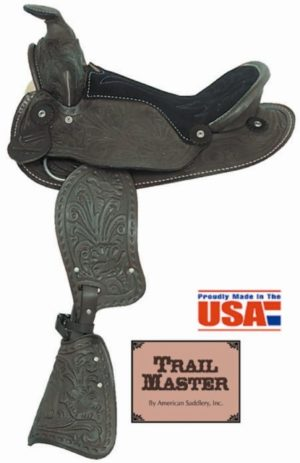 "American No.161, No.162Happy Trails Pony Saddle, 12"" Seat"