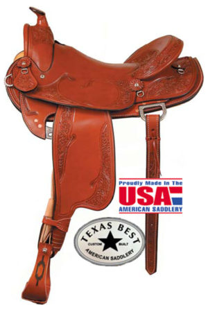 """American No. 936The Cagle Mtn Trail Saddle. QH Bars,16"""" Seat"""