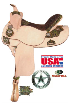 "American No. 898The Camo Racing Shooter, QH Bars,15,16"" Seat"