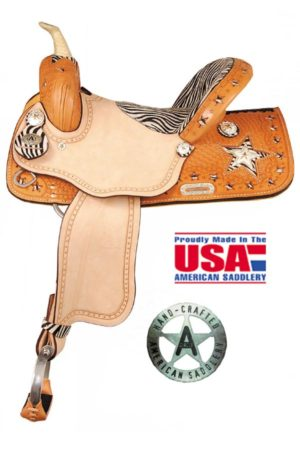 "American No. 897The Exotic Star Racer. QH Bars, 15. 16"" Seat"