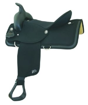"No. 20535Abetta Gaited Horse Sqr Skirt Saddle, 16"" or 17"""