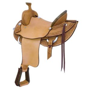 """No. 291809The HIGH RIVER RANCH ROPER. 15.5, 16.5, 17.5"""" Seat"""
