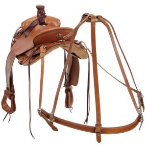 No. 1-1Colorado Saddlery, Leather Breeching for Saddles