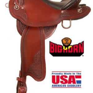 Big Horn A01695Big Horn Endurance Saddle, Gaited Horse BarS