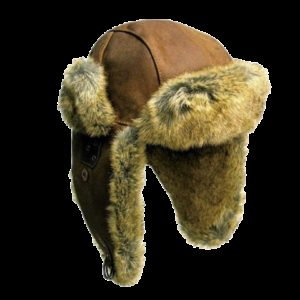 No. 9H25Kakadu Inlander Hat, Aviator Style, Fur Lined