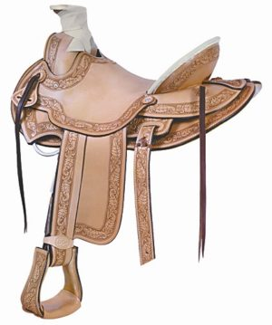 No. 291800Billy Cook Cimarron Ranch Roper Saddle. 16, 17""
