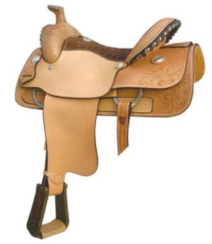 "No. 291755 BCS Roper Saddle. By Billy Cook. 15"", 15.5"", 16"""
