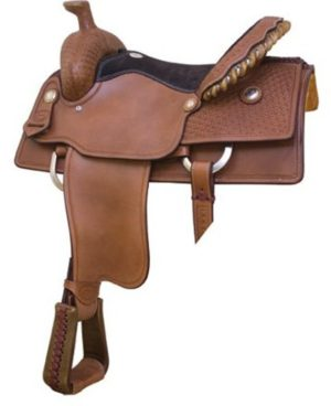 "No. 291750Blackland Roper Saddle, By Billy Cook, 15.5, 16"""