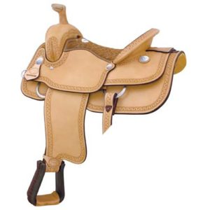 No 291767Motes Carlos Roper II Saddle, By Billy Cook. 16""