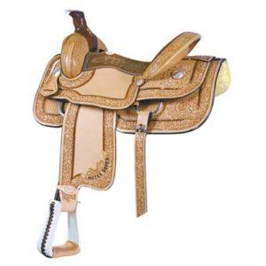 No 291743Motes Shelton Oaks Roper Saddle. By Billy Cook
