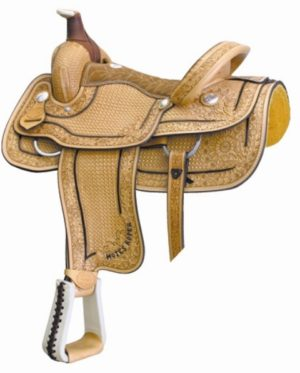 No 291740Motes Full Waffle Roper Saddle, By Billy Cook