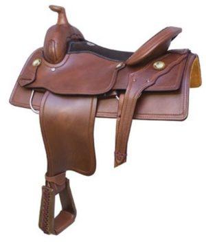 "No. 291606Reno Roper Saddle. By Billy Cook. 16"" Seat"