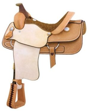 """No. 291602Cowtown Roper Saddle by Billy Cook. 15.5"""" Seat"""