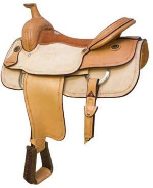 """No. 291643Maverick Roper Saddle. by Billy Cook. 16, 17"""" Seat"""