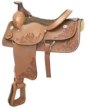 """No. 291604Roper Saddle. by Billy Cook. 15.5"""" Seat"""