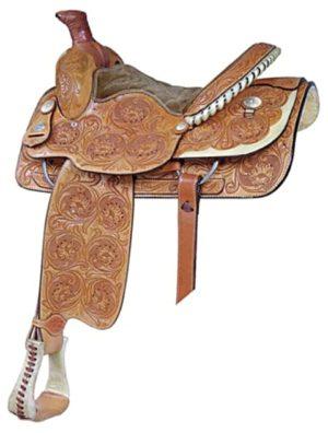 "No 291523Saddlesmith Lady Roper Saddle. by Billy Cook 14.5"""