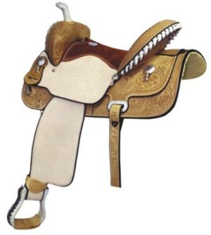 No 291211Paycheck Supreme Barrel Saddle by Billy Cook