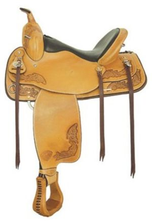 "No. 292TF484Seminole Flex Trail Saddle, 15"", 16"" or 17"" Seat"