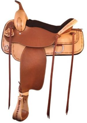"No 292TF517Lone Star Flex Trail Saddle by Tex Tan. 16"" 17"""