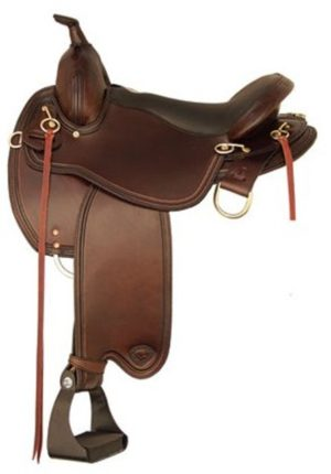 "No 292TF489Monroe Flex Trail Saddle by Tex Tan 16"", 17"" Seat"