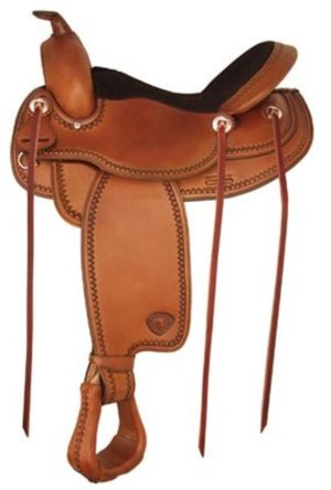"No 292519Gaited Trail Saddle by Tex Tan 16"", 17"" Seat"