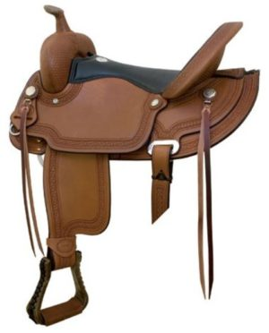 "No 291492Reno Flex Trail Saddle, by Billy Cook. 16"", 17"""