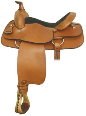 No 292604Hobson Roper Saddle by Tex Tan, 16 Inch Seat