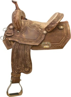 """No 292235Old Tucson Barrel Racer by Tex Tan. 14"""" or 15"""" Seat"""