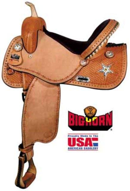 Big Horn A01567-15 & A01467-14Star Barrel Saddle.