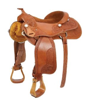 No 300-5501, 300-6501High Country Reiner Saddle