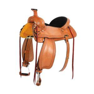No 100-5326, 6326, 7326Prairie Hawk Mule Saddle