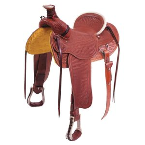 """No. 0-5010The Sierra Rancher Saddle 15, 16, 17"""" Seats"""