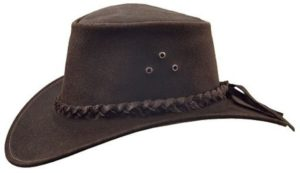 No. 9H10IRON COVE Hat, Slicker Leather