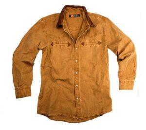 No. 5S02Kakadu Nashville Gunn Worn 10oz Canvas Western Shirt