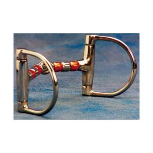 No. 25-222Copper roller Mouth Dee Snaffle Bit