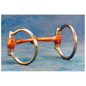 "No. 25-1754 3/4"" Mouth Dee Snaffle Bit"