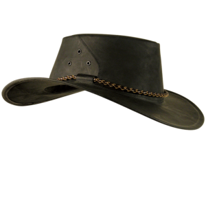 No. 9H19The Roo Leather Outback Hat