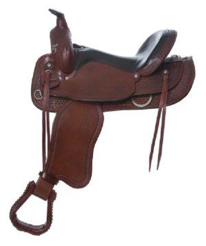 "No. 4157Sierra Flex Trail Pleasure Saddle 15, 16, 17"" Seat"