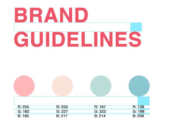 Digital brand guidelines digital graphic design website development Wellington NZ