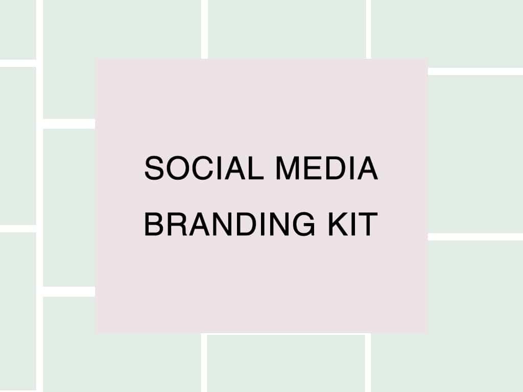 Social media branding kit Wellington NZ