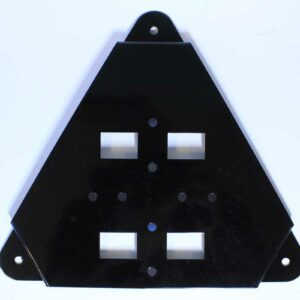 Flush Mounting Bracket Wall /Pole