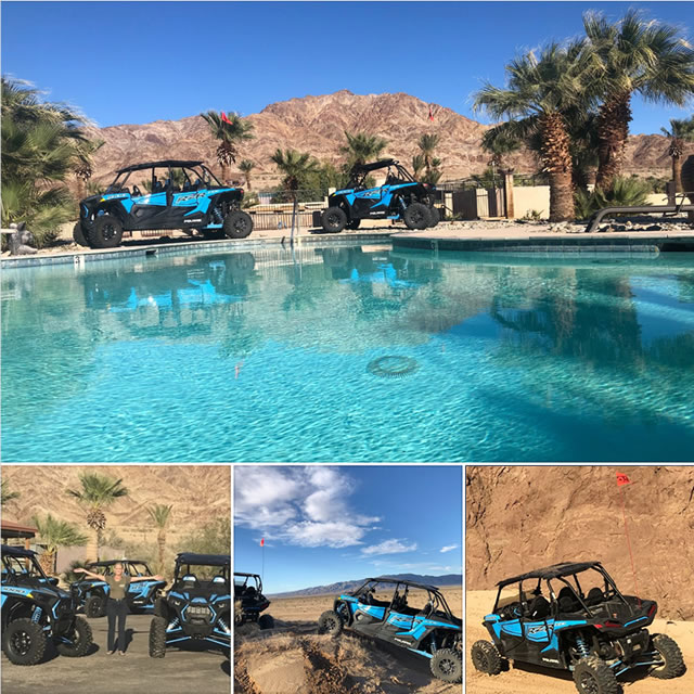 Palm Springs Atv Rentals Great Prices On New Rzr Atvs Glamis North Hot Springs Resort