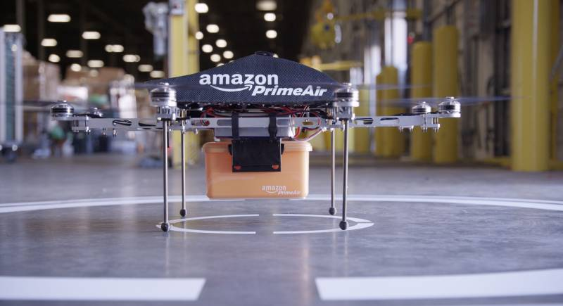 Amazon drone delivery prototype