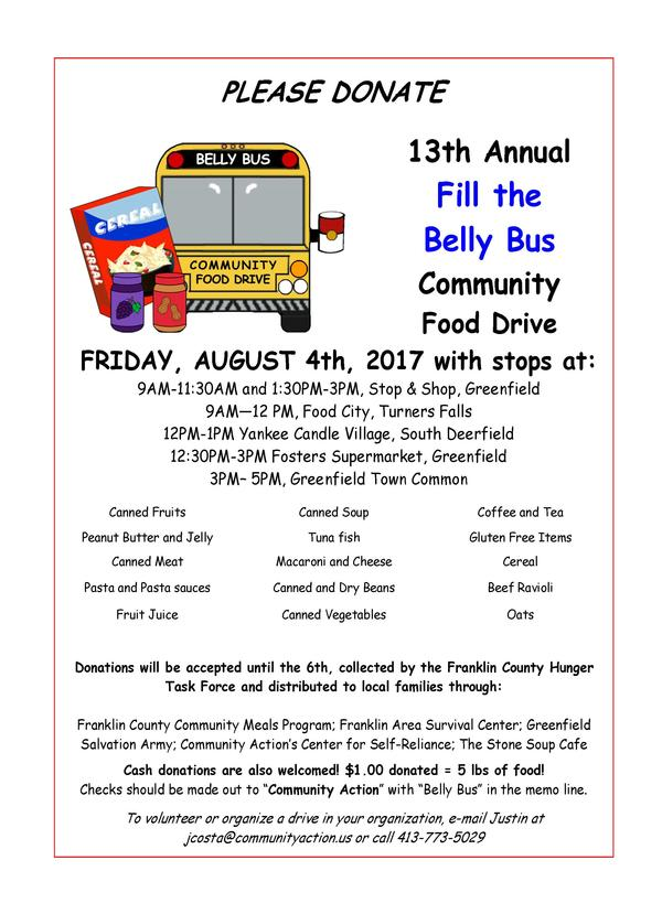 belly bus flyer