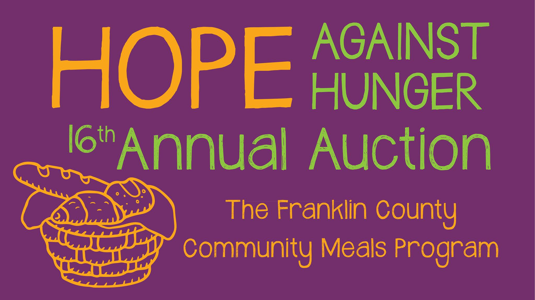 The 16th Hope Against Hunger FCCMP Annual Auction