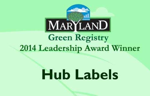 Maryland Green Registry 2014 Award