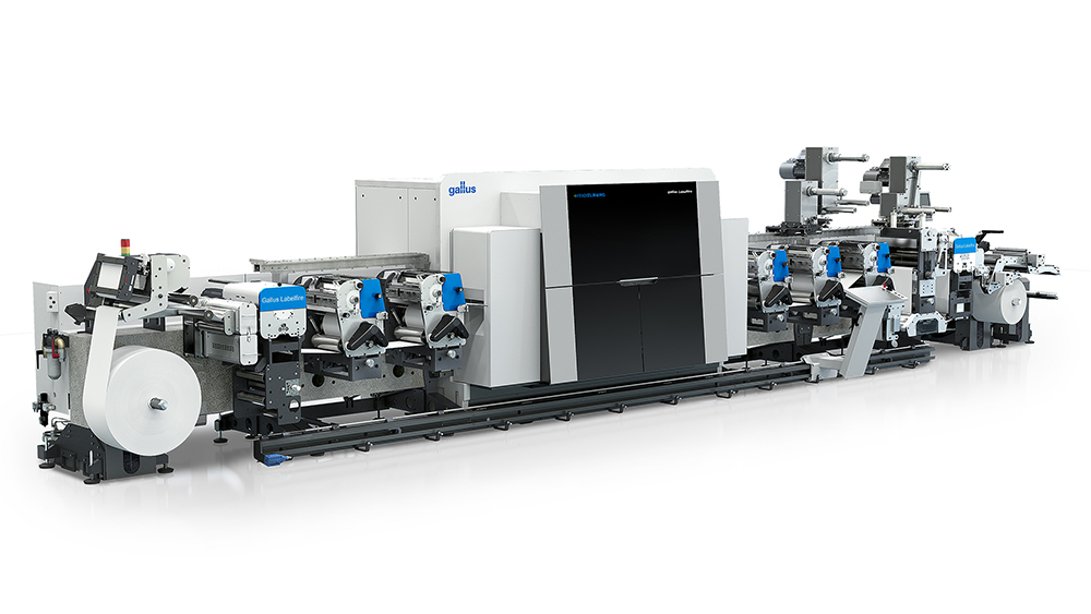 Gallus Hybrid Digital-Flexo Press