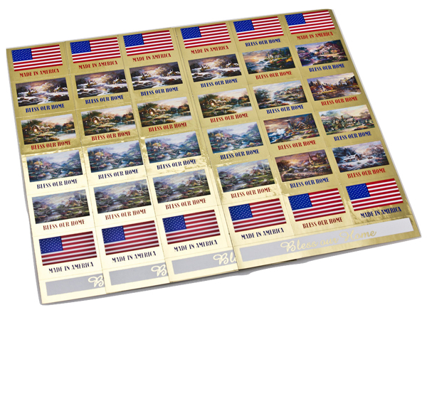 Made in America Direct Mail Labels
